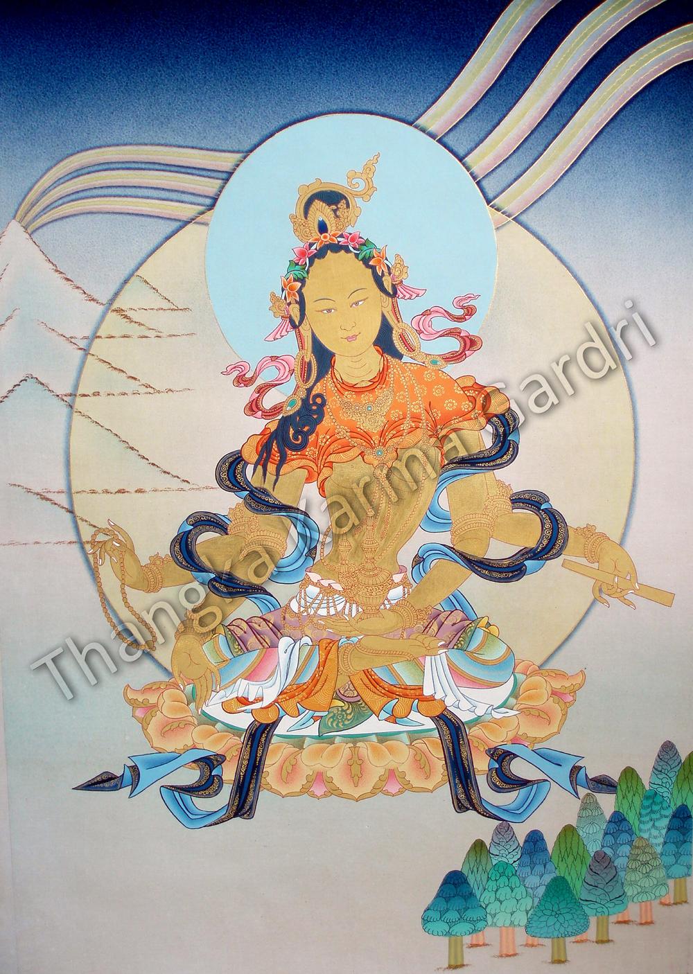 Thangka Karma Gardri